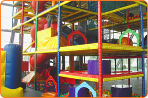 Multi-level Adventure Play Equipment