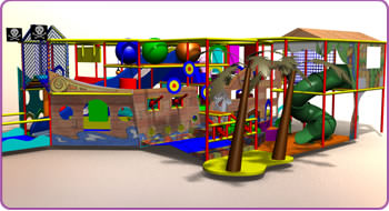 Themed Play - Pirate Ship Design